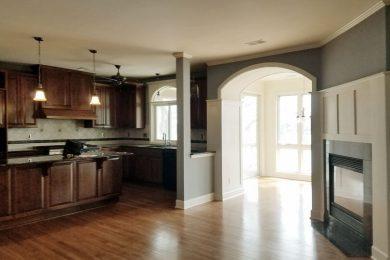 C Street LL – Living Room Kitchen 1 Before