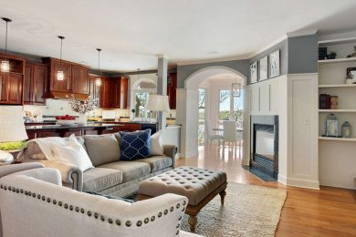 C Street – Living Room Kitchen 2 After