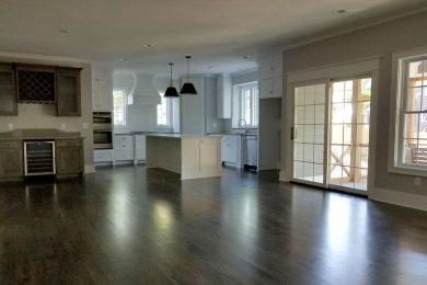 Prairie Village New Living Room Kitchen Before